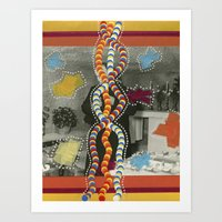 dna Art Prints featuring DNA by Naomi Vona