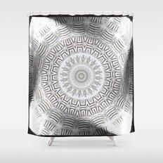 METAL Element Kaleido Pattern Shower Curtain