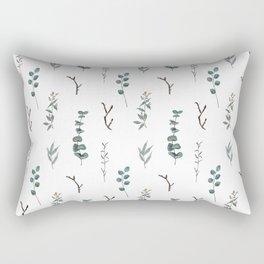 Eucalyptus Pattern Rectangular Pillow