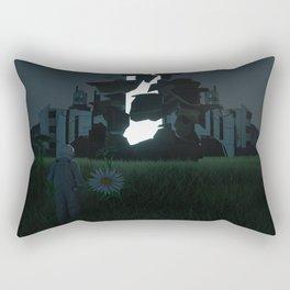 THE VISITOR: RETURNING HOME Rectangular Pillow