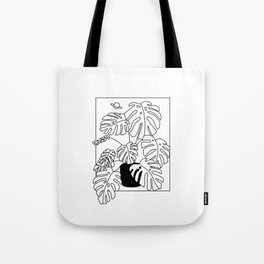 Magic Monstera Tote Bag