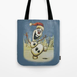 Olaf Christmas Frozen Tote Bag