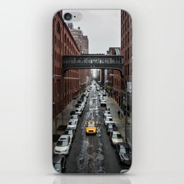 Iconic New York Taxi iPhone Skin