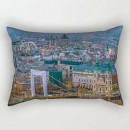 Evening view Rectangular Pillow