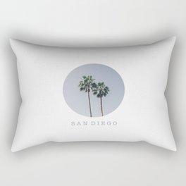 SAN DIEGO / California Rectangular Pillow