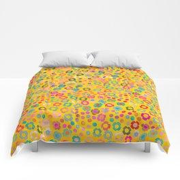 dp065-7 floral pattern Comforters