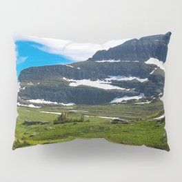 Logans Pass, Glacier National Park Pillow Sham