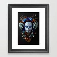 Berry Harvest Muertita Framed Art Print