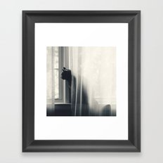 Le Kitty  Framed Art Print