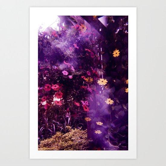 botanical alone Art Print