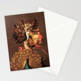 The Air by Giuseppe Arcimboldo - The Four Elements Stationery Cards