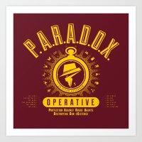 P.A.R.A.D.O.X. Operative Art Print