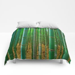 BAMBOO FOREST1 Comforters