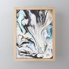 Fluid V.1 Framed Mini Art Print