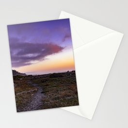 Dry Lagoon Sunset Stationery Cards