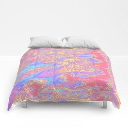 sideways strata Comforters