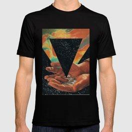 disruption of his world... (Paradise) T-shirt