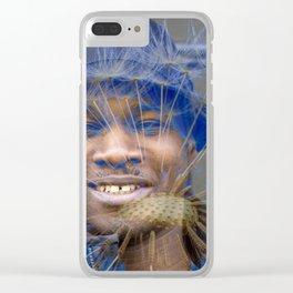 Darkin's Garden, No. 7 Clear iPhone Case