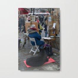 Artis in paris Metal Print