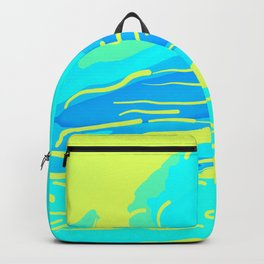 abstract style aurora borealis absbryi Backpack