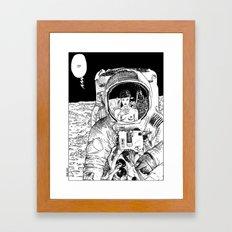 asc 333 - La rencontre rapprochée ( The close encounter) Framed Art Print