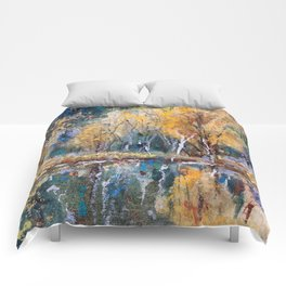 The Pond's Reflections Comforters
