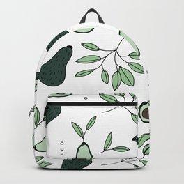 Avocado harvest veggie lovers garden mint green spring summer Backpack