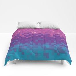 Pixel color Comforters