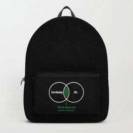 Mens Gardeners Gift Gardening and Me print Backpack
