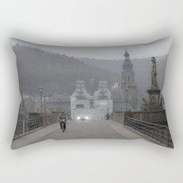 Heidelberg Cyclist Rectangular Pillow