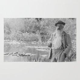 Claude Monet a Giverny Rug
