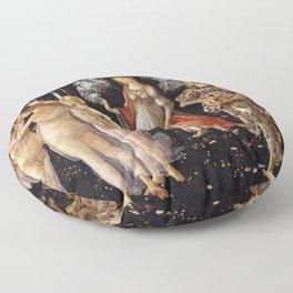 Primavera, Botticelli Floor Pillow