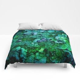 Underwater Wood 2 Comforters