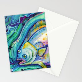 Halibut Dreaming Stationery Cards