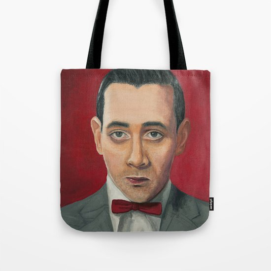 Pee-Wee Herman, A portrait Tote Bag
