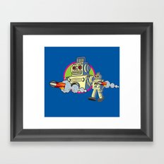 Robot 2.0 Framed Art Print