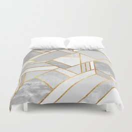 Gold City Duvet Cover