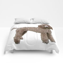 Elegant Poodle Comforters