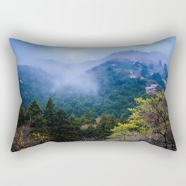 Japanese forest 2 Rectangular Pillow