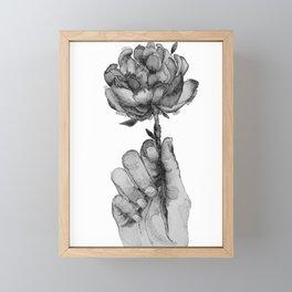 Spring Feels / bnw Framed Mini Art Print