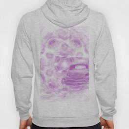 Fractured fractal kaleidoscope with car wreck Hoody