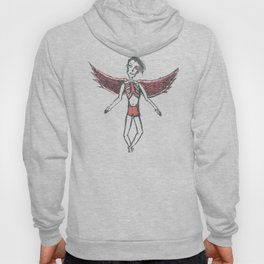 Floral Angel Hoody