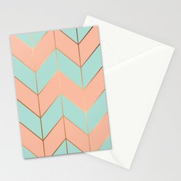 Marble Geometry 059 Stationery Cards