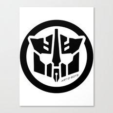 Art-O-Bots Canvas Print