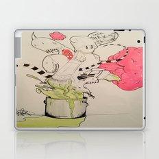 BUCKET FULL OF MONSTERS Laptop & iPad Skin