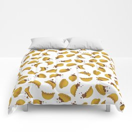 Empanada Frenzy Comforters