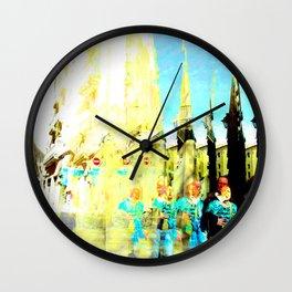 Despite all those variagated shut eye shenanigans. Wall Clock