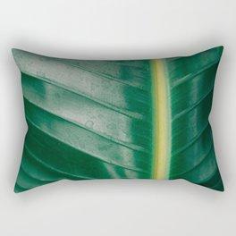 Tropical Leaf Rectangular Pillow