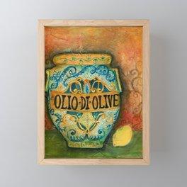 Tuscan Majolica Olio Framed Mini Art Print
