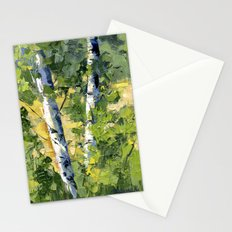 Aspens - Ready to Turn Yellow... Stationery Cards